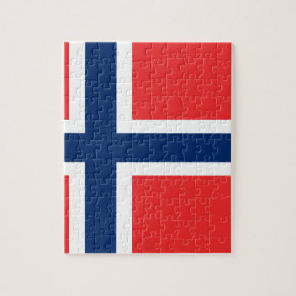 Low Cost! Norway Flag Jigsaw Puzzle