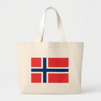 Low Cost! Norway Flag Large Tote Bag