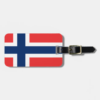 Low Cost! Norway Flag Luggage Tag