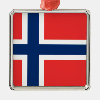 Low Cost! Norway Flag Metal Ornament