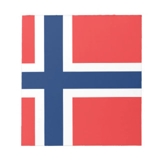 Low Cost! Norway Flag Notepad