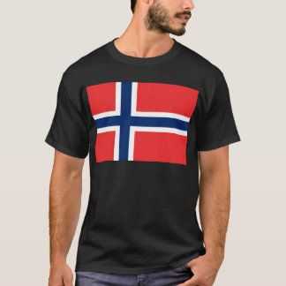 Low Cost! Norway Flag T-Shirt