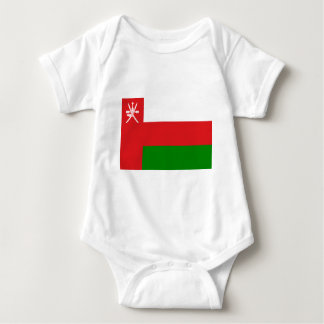 Low Cost! Oman Flag Baby Bodysuit