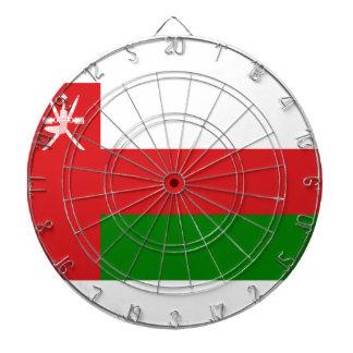 Low Cost! Oman Flag Dartboard