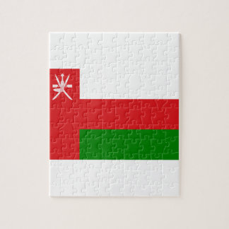Low Cost! Oman Flag Jigsaw Puzzle