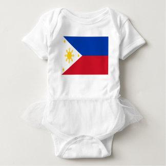 Low Cost! Philippines Flag Baby Bodysuit
