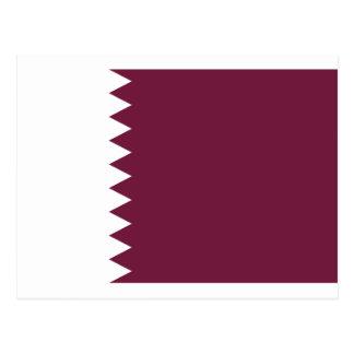 Low Cost! Qatar Flag Postcard