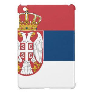 Low Cost! Serbia Flag Case For The iPad Mini