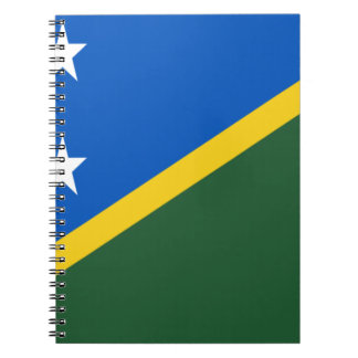 Low Cost! Solomon Islands Flag Notebook