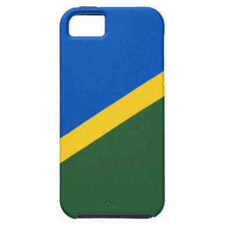 Low Cost! Solomon Islands Flag Tough iPhone 5 Case