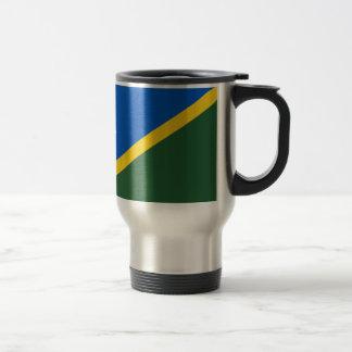 Low Cost! Solomon Islands Flag Travel Mug