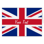 Low Cost Union Jack Flag of Great Britain Greeting Cards