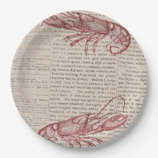 Low Country Boil Paper Plates