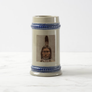 LOW DOG - OGLALA SIOUX CHIEF BEER STEIN