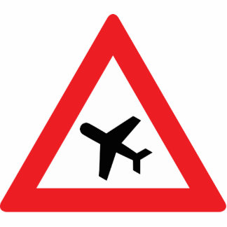 Low Flying Aircraft Photo Cut Out