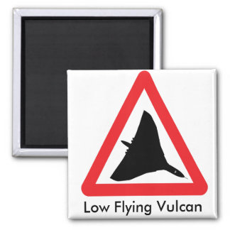Low Flying Vulcan Magnet. Magnet