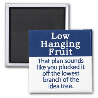 Low Hanging Fruit Magnet
