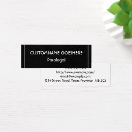 Paralegal business cards images business card template paralegal business cards business card printing zazzle low key paralegal business card colourmoves reheart Images