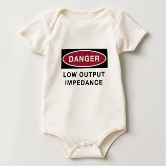 Low Output Impedance (baby) Baby Bodysuit