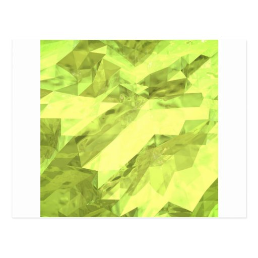 Low poly abstract post card