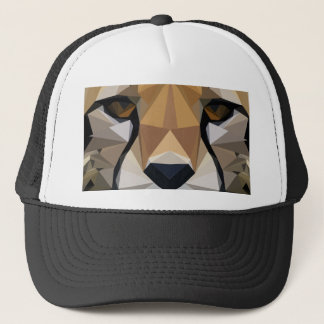 Low Poly Cheetah Trucker Hat