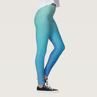 Low Poly Gradient Leggings