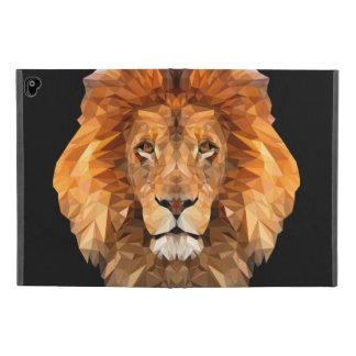 Low Poly Lion IPad case