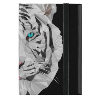 Low Poly Siberian Tiger iPad Mini Case with No Kic