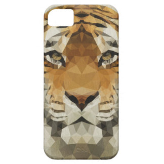 Low Poly Tiger IPhone 5/SE/5S Case
