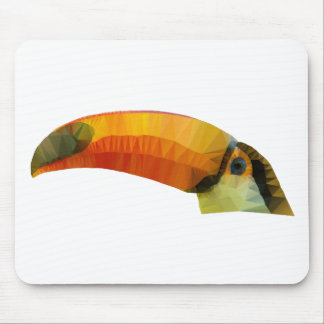 Low Poly Toucan Mouse Pad