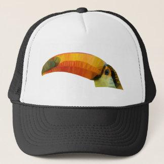 Low Poly Toucann Trucker Hat