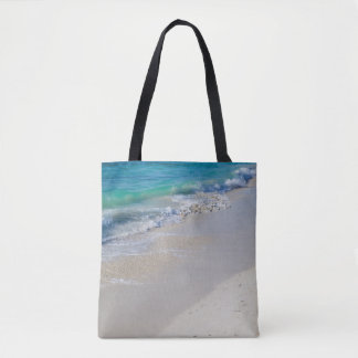 Low Tide at the Beach Tote Bag