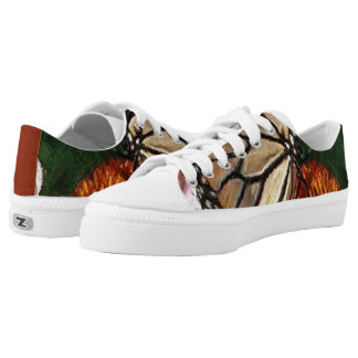 Low Top Butterfly On Fire Swag Shoes Step Out