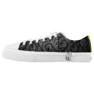 Low top graphic shoes