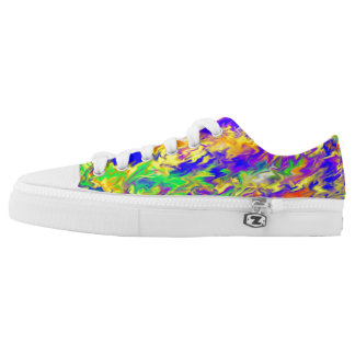 Low Top Shoes with color Printed Shoes