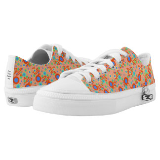 Low Top Shoes with Dots Printed Shoes