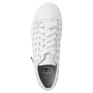 LOW TOP STAR BURST TENNIS SHOES PRINTED SHOES