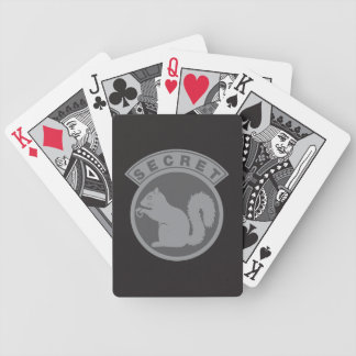 Low Vis Secret Squirrel Poker Deck