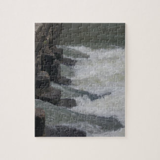 Low Water Crossing Jigsaw Puzzle