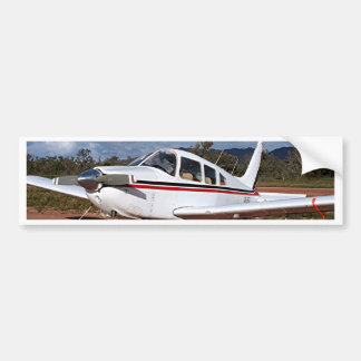 Low wing aircraft, Outback Australia 1 Bumper Sticker