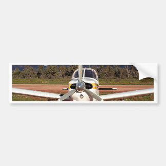 Low wing aircraft, Outback Australia 2 Bumper Sticker