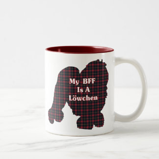 Lowchen BFF Gifts Two-Tone Coffee Mug