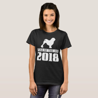 Lowchen Year Of The Dog 2018 T-Shirt