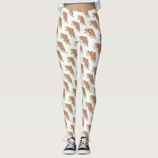 Lowcountry South Carolina SC Shrimp and Grits Food Leggings