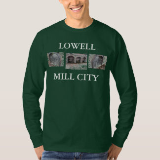 Lowell Massachusetts 3 photo set T-Shirt