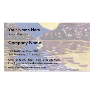 Lower Ausable Lake, Adirondacks by George Luks Pack Of Standard Business Cards