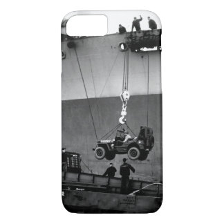 Lower Away. Down goes a jeep from_War image iPhone 7 Case