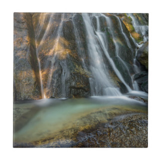 Lower Bell's Canyon Waterfall Ceramic Tile