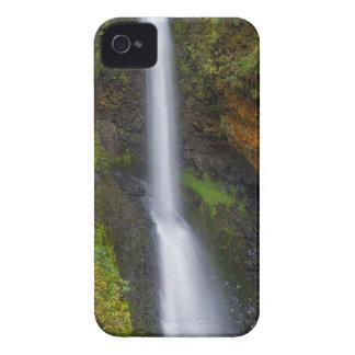 Lower Butte Creek Falls in Fall Season iPhone 4 Cover