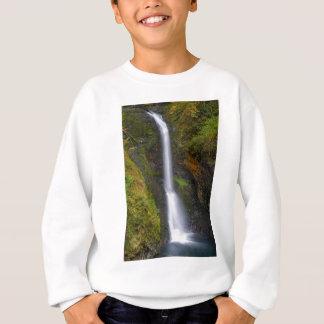 Lower Butte Creek Falls in Fall Season Sweatshirt